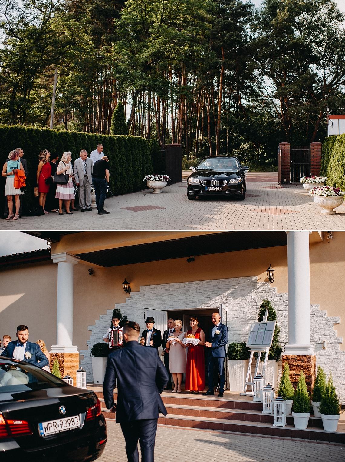 BMW Samochód do ślubu Warszawa