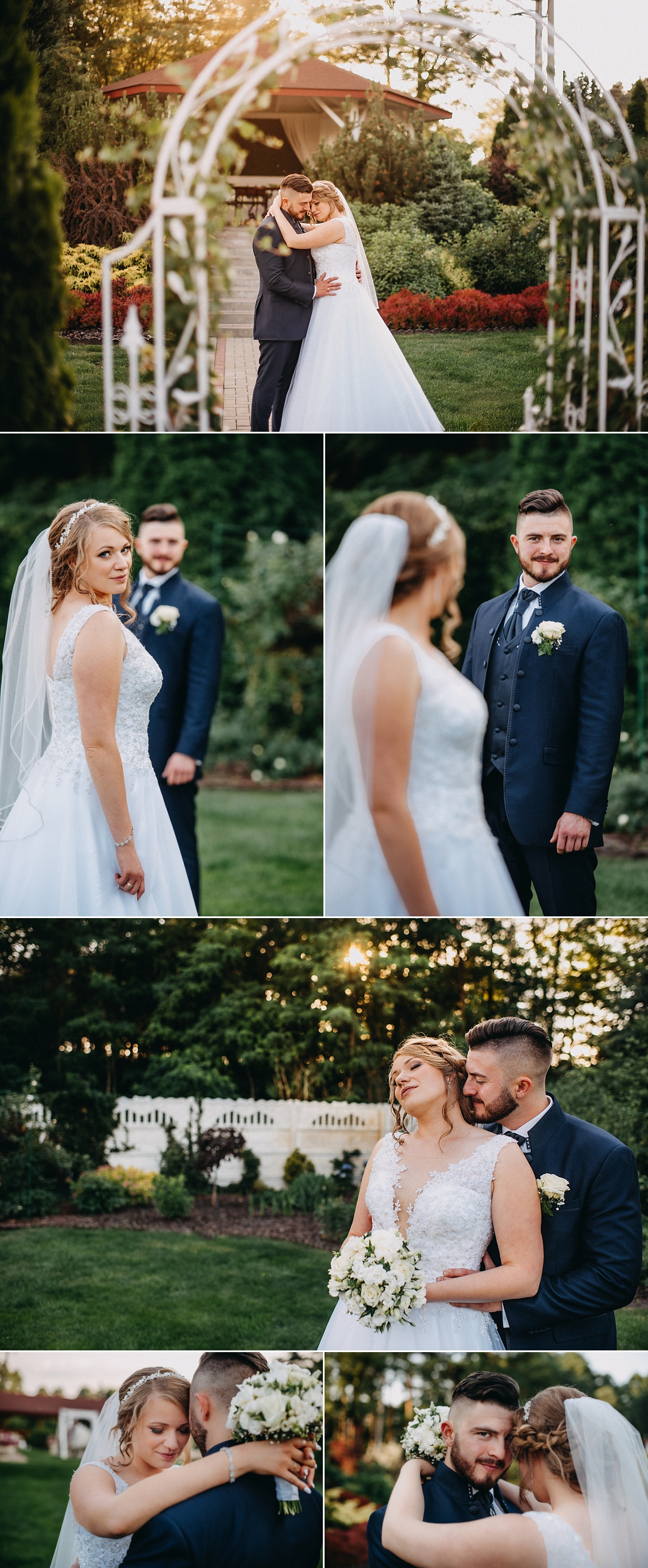 Sesja w dniu ślubu fotograf