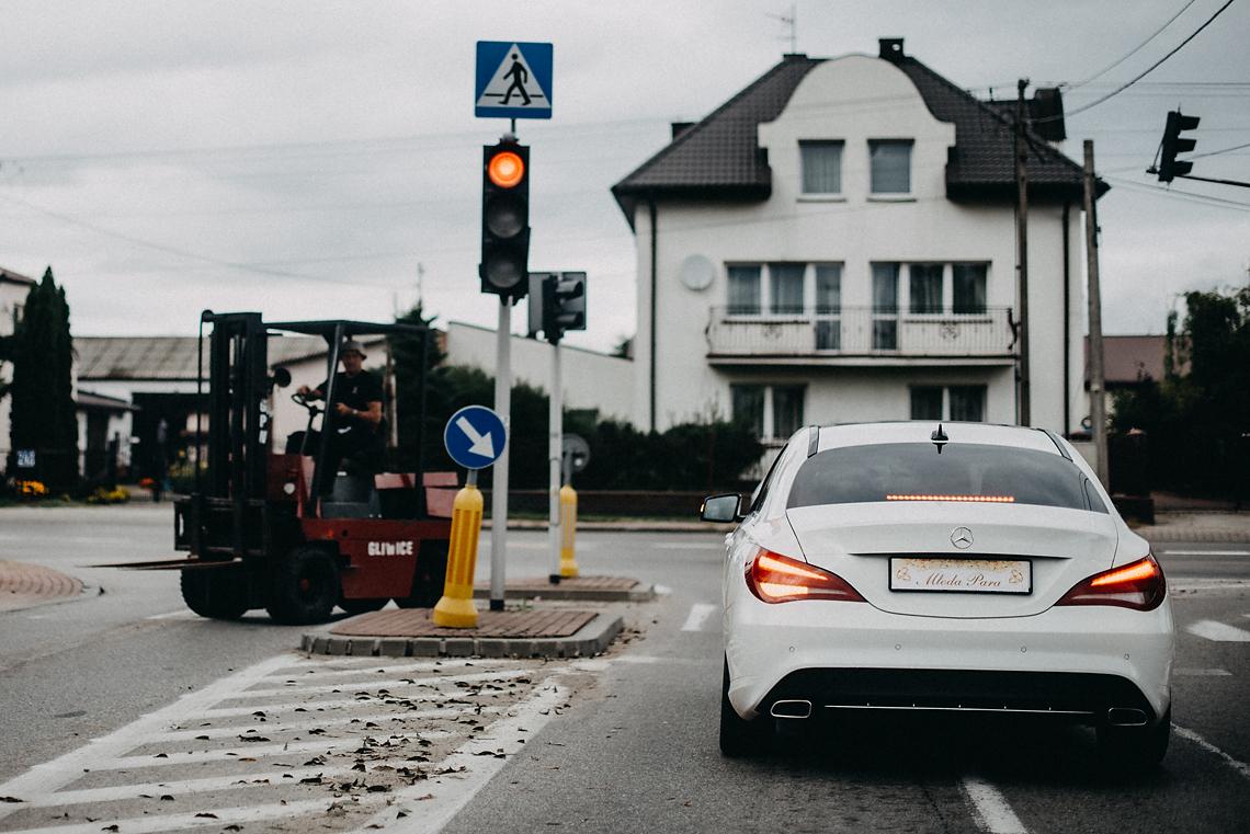 Mercedes do ślubu Warszawa