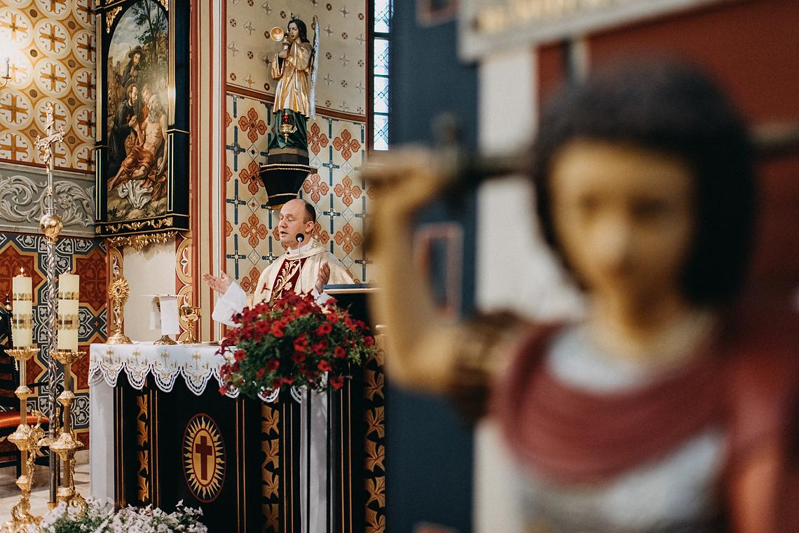 Msza ślubna w Pruszkowie