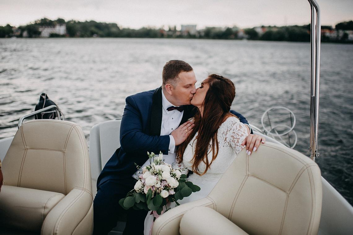 sesja na łodzi fotograf Warszawa