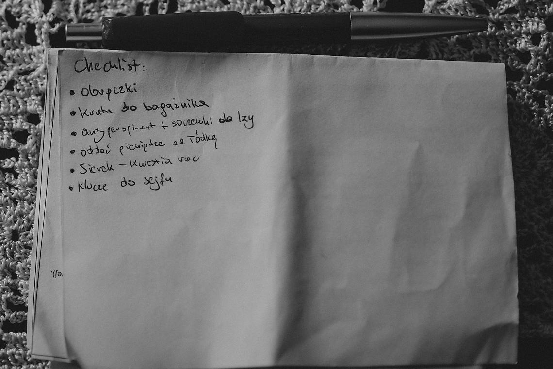 checklista ślubna Pruszków