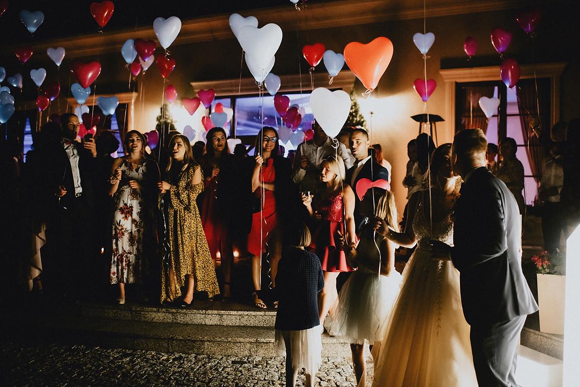 balony pokaz wesele Wołomin