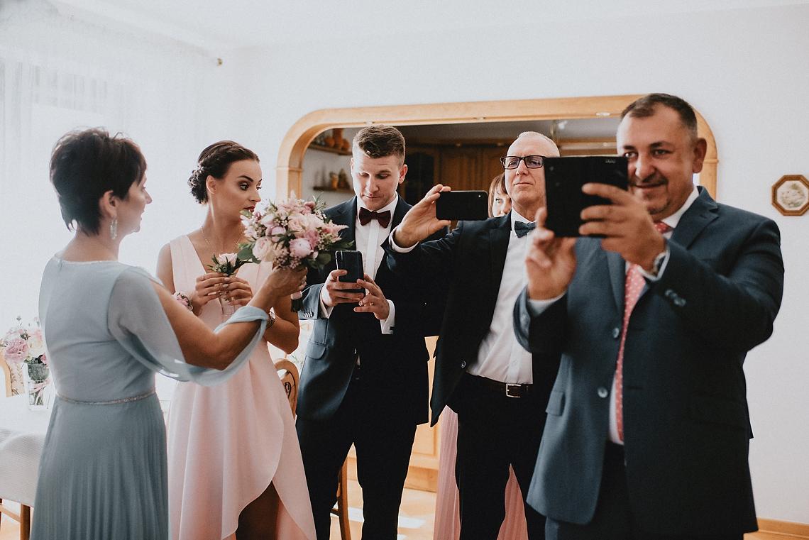 Trzech fotografów ślub wesele Warszawa