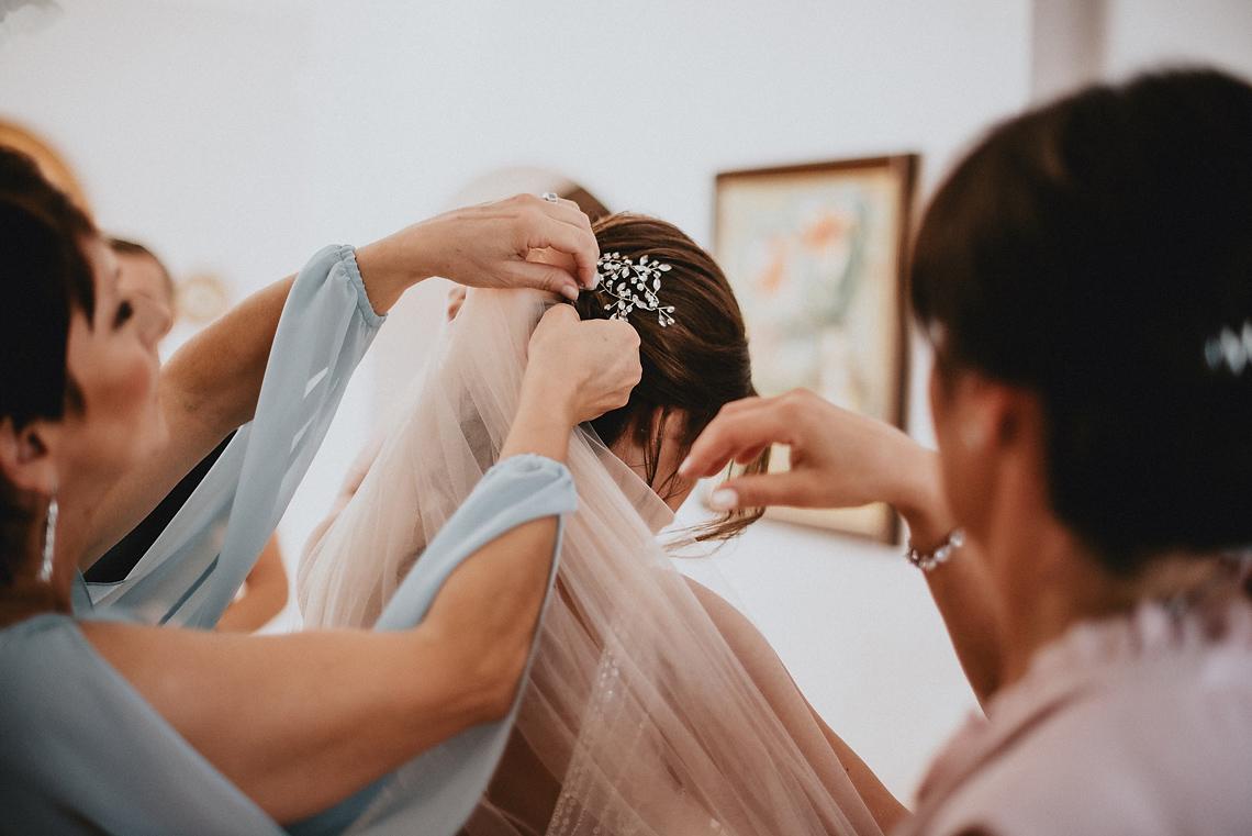 Welon suknia ślubna zdjęcia na ślubie Wołomin