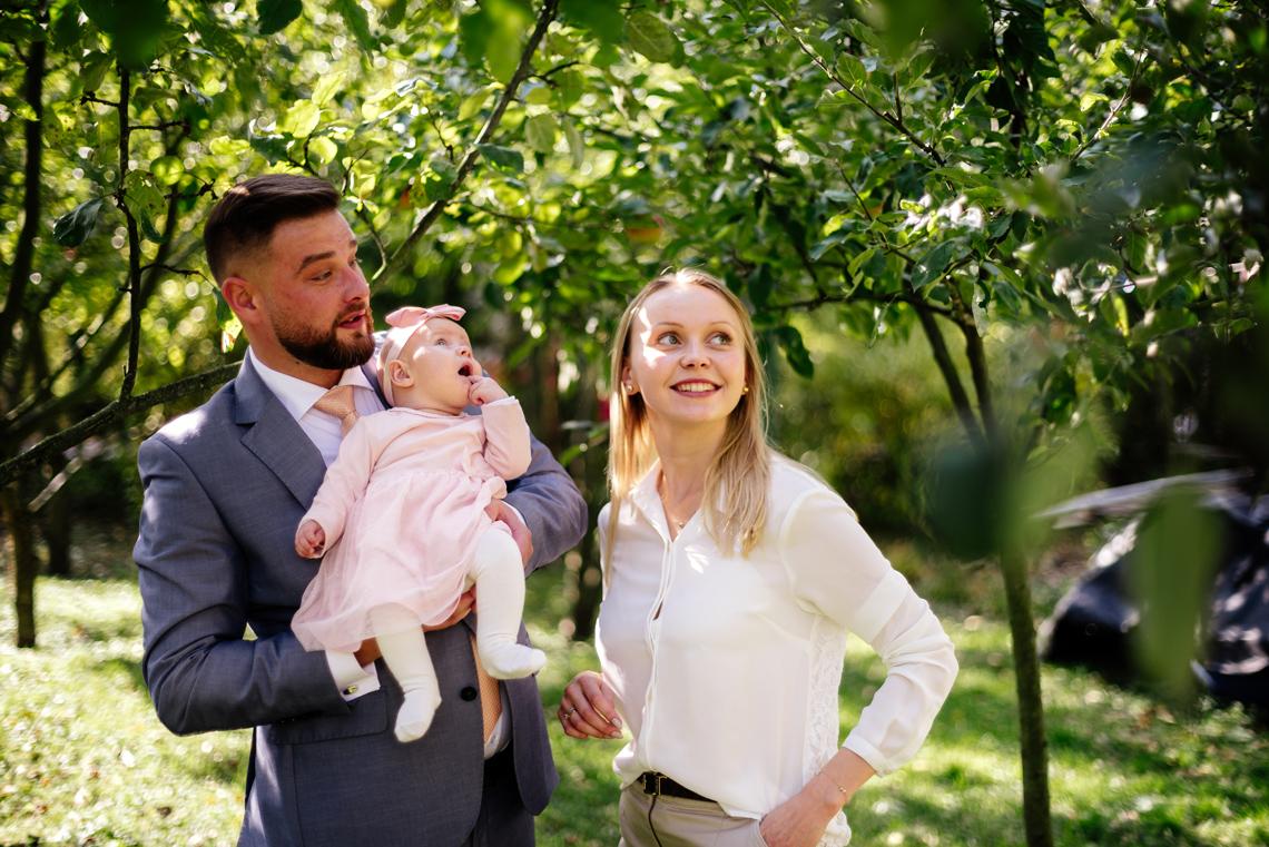 rodzinna sesja chrzest Milanówek