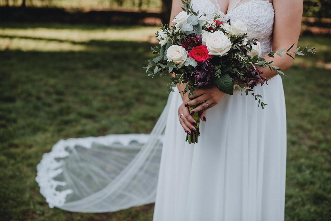 Ślubny bukiet