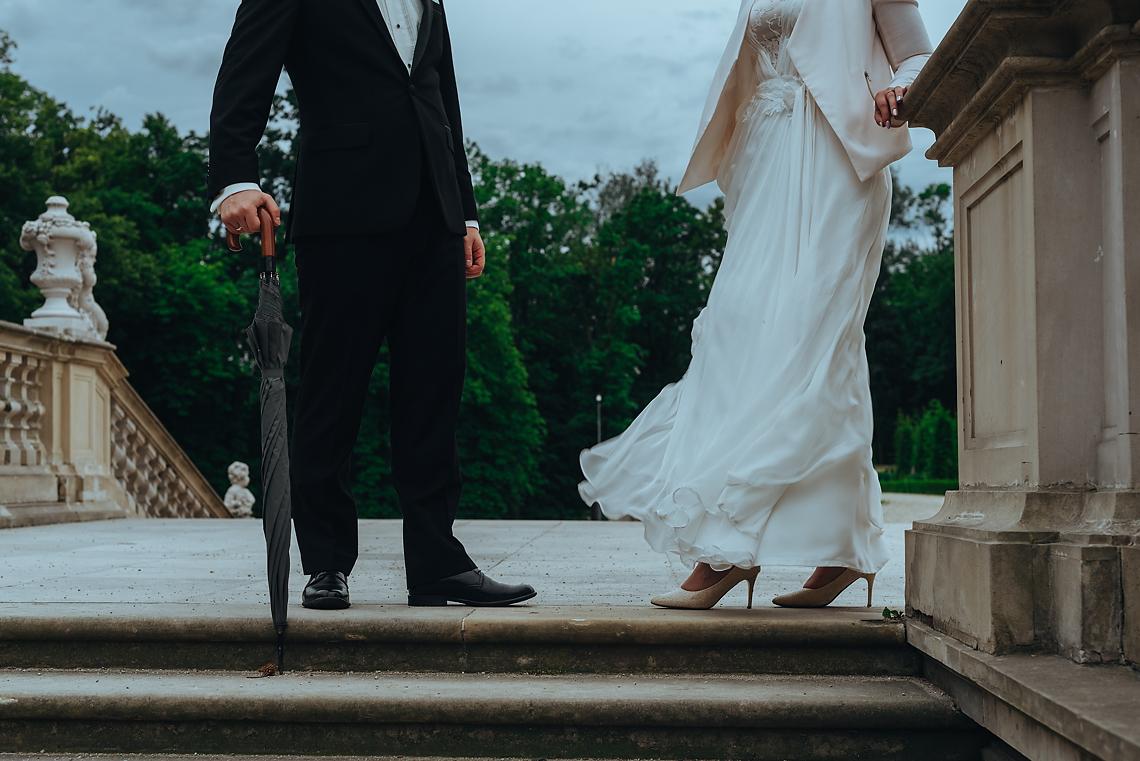 stylowa sesja ślubna